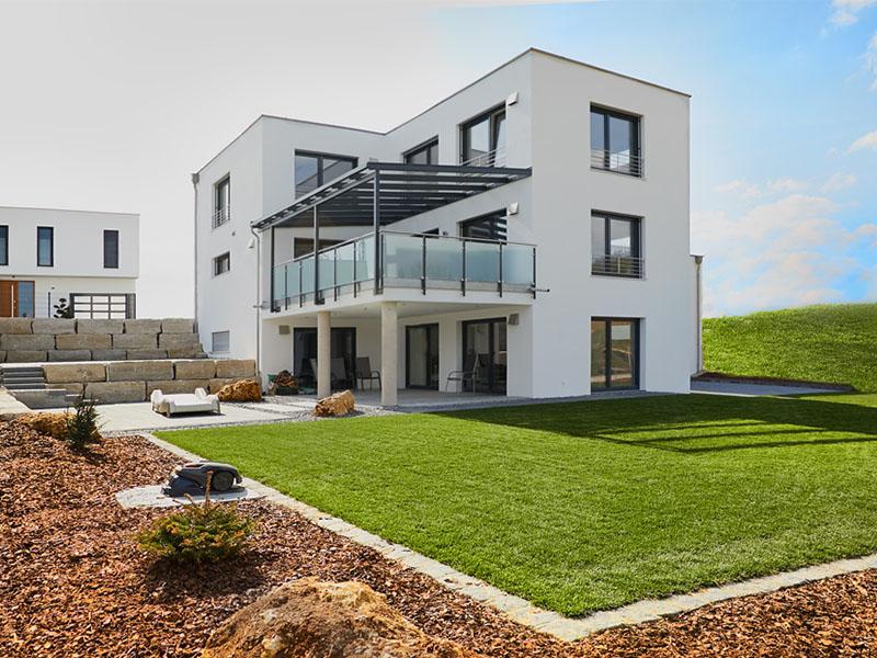 EFH Eichstätt, Garten | Schlicker Bauunternehmen GmbH