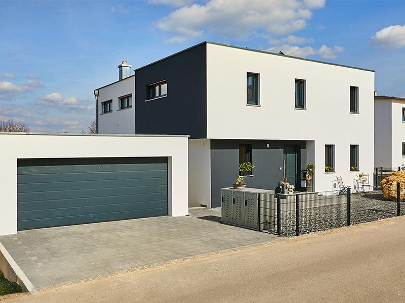 Einfamilienhaus Eichstätt | Schlicker Bauunternehmen GmbH, Doppelgarage