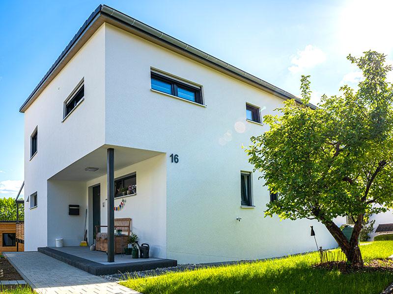 Ziegelhaus Eichstätt   Schlicker Bauunternehmen GmbH, Garten