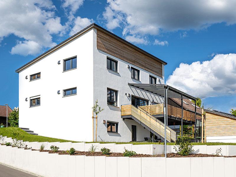 Ziegelhaus Eichstätt   Schlicker Bauunternehmen GmbH, Balkon
