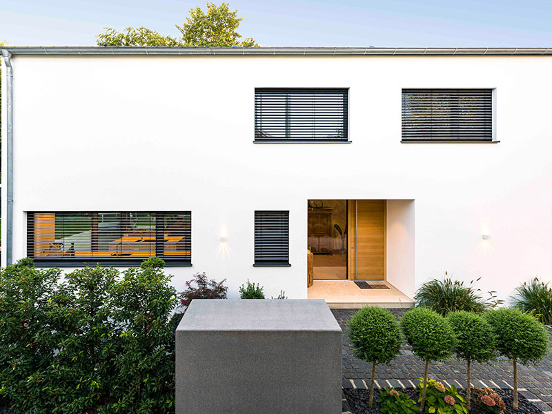 Einfamilienhaus Ingolstadt | Schlicker Bauunternehmen GmbH, Flachdach, modern