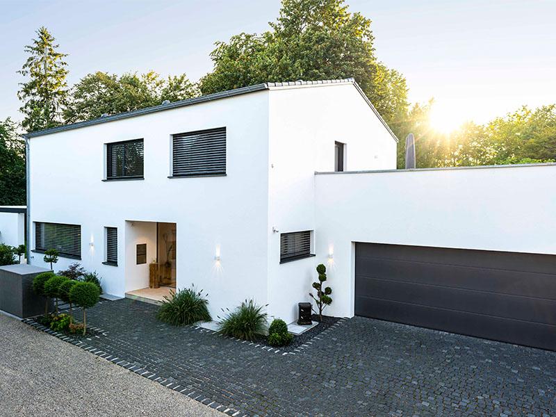 Einfamilienhaus Ingolstadt | Schlicker Bauunternehmen GmbH, Doppelgarage